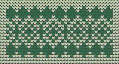 Green, Knitting patterns free, knitting charts and motifs - www.knitting-patterns-free.rucniprace.cz