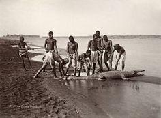 La Chasse au Crocodile, Circa 1870