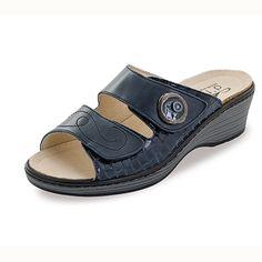 Sandalias de Piel Noia Azul