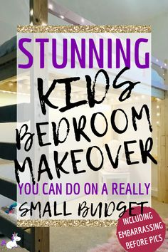 bedroom makeover on a budget - This small bedrrom was transformed from a cluttered mess to a stylish space with a DIY bed, DIY clothes rail & clever storage Diy Home Decor Bedroom, Budget Bedroom, Bedroom Ideas, Bedroom Layouts, Baby Bedroom, Girls Bedroom, Diy Clothes Rail, Pet Clothes, Ikea Billy Bookcase Hack