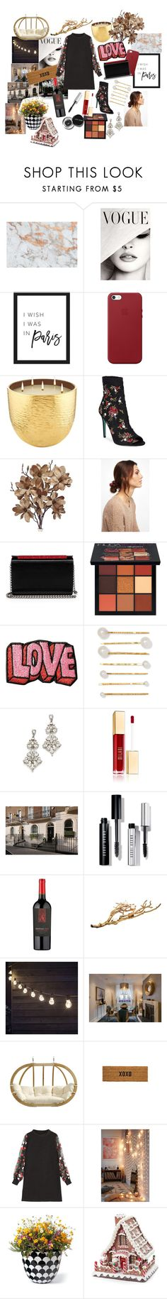 """near the end♦️♥️♣️♠️🃏"" by fashioninmyindustry ❤ liked on Polyvore featuring Apple, AERIN, Betsey Johnson, NOVA, Christian Louboutin, Huda Beauty, Stoney Clover Lane, Jennifer Behr, Ben-Amun and Bobbi Brown Cosmetics"