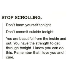 Stay alive my friend , not just today , but tomorrow too>>> Passing this along as encouragement!