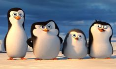 película Pingüinos de Madagascar