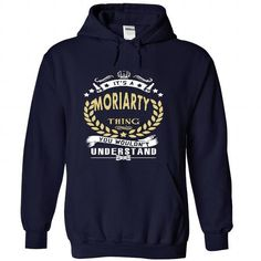 Its a MORIARTY Thing You Wouldnt Understand - T Shirt,  - #gift for mom #gift bags. BEST BUY => https://www.sunfrog.com/Names/Its-a-MORIARTY-Thing-You-Wouldnt-Understand--T-Shirt-Hoodie-Hoodies-YearName-Birthday-6583-NavyBlue-33493277-Hoodie.html?68278
