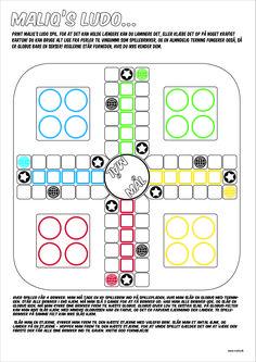 Lav selv Ludo spil med Maliq - print og spil!