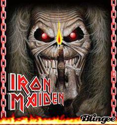 IRON MAIDEN!!  m/