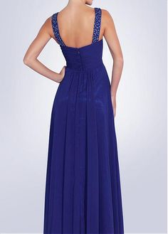 Ultra Keyhole A-line Floor-length Draping Blue Tone Special Occasion Dresses Wedding Dresses Plus Size, Bridal Wedding Dresses, Prom Dresses, Formal Dresses, Special Occasion Dresses, Chiffon, Neckline, Floor, Draping