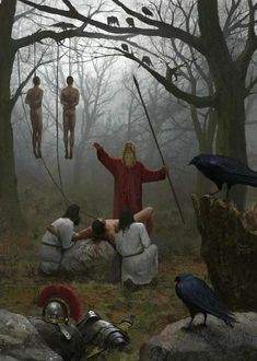 Milek Jakubiec: sacrificio humano tras el desastre de Varo (9 a.C.). Más en www.elgrancapitan.org/foro