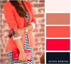 combinaciones de prendas de colores - Buscar con Google