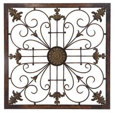 wall grille with metal frame by propac images description from pinterestcom i - Outdoor Metal Wall Decor