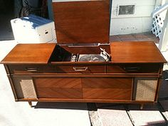 1960's stereo console