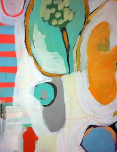 Lena Orignal Abstract on Etsy, $25.00