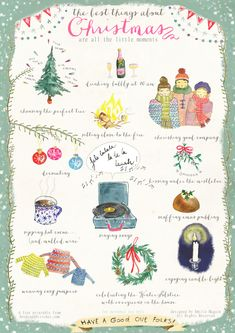 Wonderful Poster/ free card printable by Emilie Maguin for Seeds and Stitches* Hannah here: