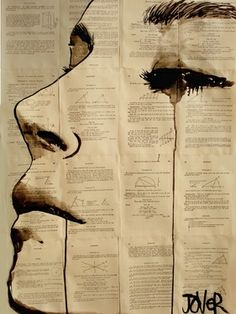 "I so want this picture.  Saatchi Online Artist Loui Jover; Drawing, ""content"" #art"