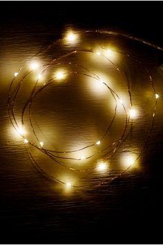 Copper Wire Lights Ideas | Copper String Lights Decor
