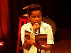Lançamento do livro 'Meu Universo' do menino Gustavo Gomes