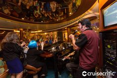 Schooner Bar on Navigator of the Seas. Sing along with piano music in this signature, nautical-themed bar. Cruise Miami, Cozumel Cruise, Jamaica Cruise, Cozumel Mexico, Southern Caribbean Cruise, Eastern Caribbean Cruises, Western Caribbean, Costa Maya Mexico, Empress Of The Seas