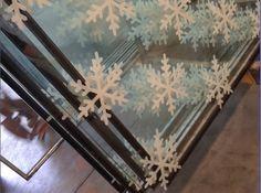 silkscreen printed glass