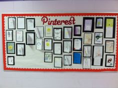 Helped my co-worker with her Pinterest bulletin board. Came out pretty good :)