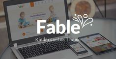 Fable - Children Kindergarten WordPress Theme (Education)