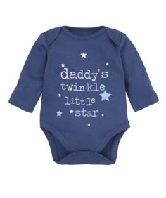 I'm shopping Mothercare Long Sleeve Daddy Bodysuit in the Mothercare iPhone app.