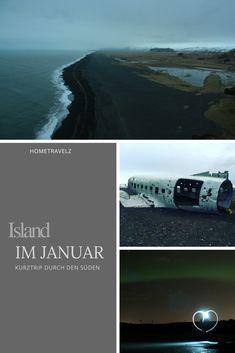 Island im Januar mit hometravelz. Erlebt einen Kurzroadtrip, Tipps für Ausflüge im Januar und Sichtungen von Nordlichtern trotz schlechter Wettervorhersage.