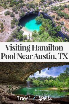 Visiting Hamilton Pool Near Austin, Texas - TravelAwaits Texas Vacations, Vacation Places, Dream Vacations, Vacation Spots, Places To Travel, Honeymoon Places, Hiking Places, Family Vacations, Cruise Vacation