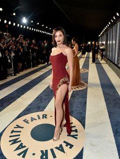 Beautiful Women Tumblr, Jenna Dewan, Vanity Fair Oscar Party, Pin Up Girls, Body Shapes, Party Dress, Glamour, Actresses, Formal Dresses