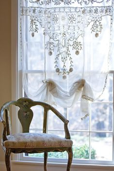 Of course, you can't have lace without linens.