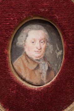 Miniature of a gentleman, 18th century, French school