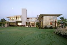 Hiren Patel Architects | The Urbane House | Found on Home Adore