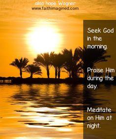 Seek, Praise, Mediate