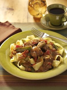 Slow-Cooked Pepper Steak Recipe from Taste of Home
