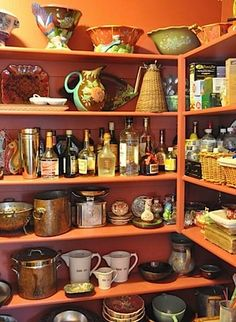 her pantry