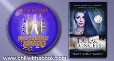 CHILL WITH A BOOK AWARDS: The Du Lac Princess by Mary Anne Yarde