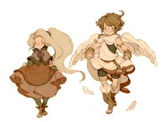 Luce in the Sky - Character Design Page