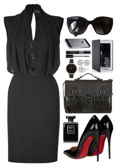 """""""#456"""" by riozannat ❤ liked on Polyvore featuring Fendi, Ghibli, Paul Smith, Christian Louboutin, Christian Dior, Olivia Burton, Fantasia by DeSerio and Chanel"""