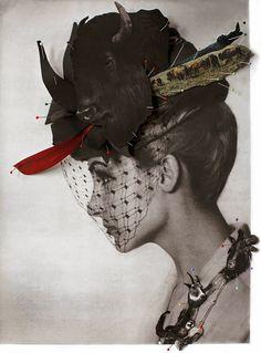 Photo collage by Ulla Jokisalo | http://ineedaguide.blogspot.com/2015/05/ulla-jokisalo.html | #collage #art #photography
