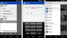 #OneDrive para #Android ahora nos permite acceder a nuestras cuentas personales y de empresa http://www.xatakandroid.com/p/112718