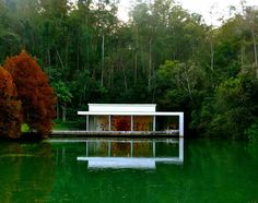 Instituto Inhotim (Brazil) is a 250-acre botanical garden and open air contemporary art museum, showcasing the works of more than 100 artists from around the globe