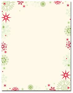 Red Green Flakes Letterhead