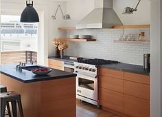 Mark Reilly Kitchen with Soapstone Counters, Remodelista