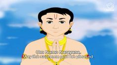 Prahaladha, the child devotee of Lord Vishnu is considered to be one of the greatest saints of God, Hiranyakashipu casts himself as the enemy of Vishnu, He gets great boons from the creator Brahma, and imagines that nobody can kill him. He then proclaims that he himself is god.
