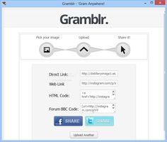 Download Gramblr 1.0.0 - A simple, yet effective piece of software whose main purpose is to help you upload JPG or JPEG photos to your Instagram account with ease