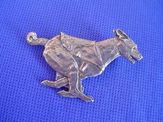 """Basenji Pin Lure Coursing """"SPEED"""" #40Dc Pewter Dog Jewelry by Cindy A. Conter Dog Jewelry, Pewter, Cufflinks, Carving, Jewellery, Dogs, Stuff To Buy, Accessories, Tin"""