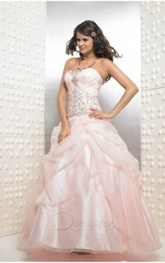 ce8e99c596 Pink Ball Gown Strapless and Sweetheart Bandage Floor Length Quinceanera  Dresses With Beading and Ruffles Ball