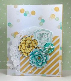 Stampin'  Up Moonlight DSP