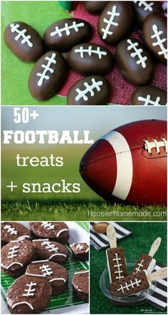 50+ Football Treats