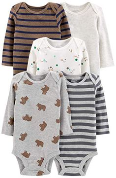 Bears with Umbrellas in Autumn Rain Newborn Baby Boy Girl Romper Jumpsuit Long Sleeve Bodysuit Overalls Outfits Clothes