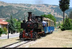 RailPictures.Net Photo: DK8001 + 3005 OSE Hellenic Railways Cail + Decauville at Kalavrita, Greece by Chris Zacharis